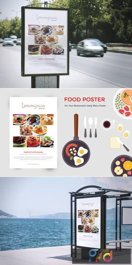 Food Menu Display Poster 3834213 1