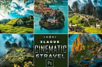 Cinematic-Landscap Travel Photoshop Actions 26196551 2