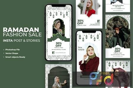 Ramadan Kareem Fashion Instagram Template YZFRXS6 1