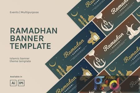 Ramadhan Banner Template RU29T4J 1