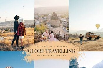 Globe Travelling - Lightroom, Camera Raw and Mobile Presets Collection 26155150 2