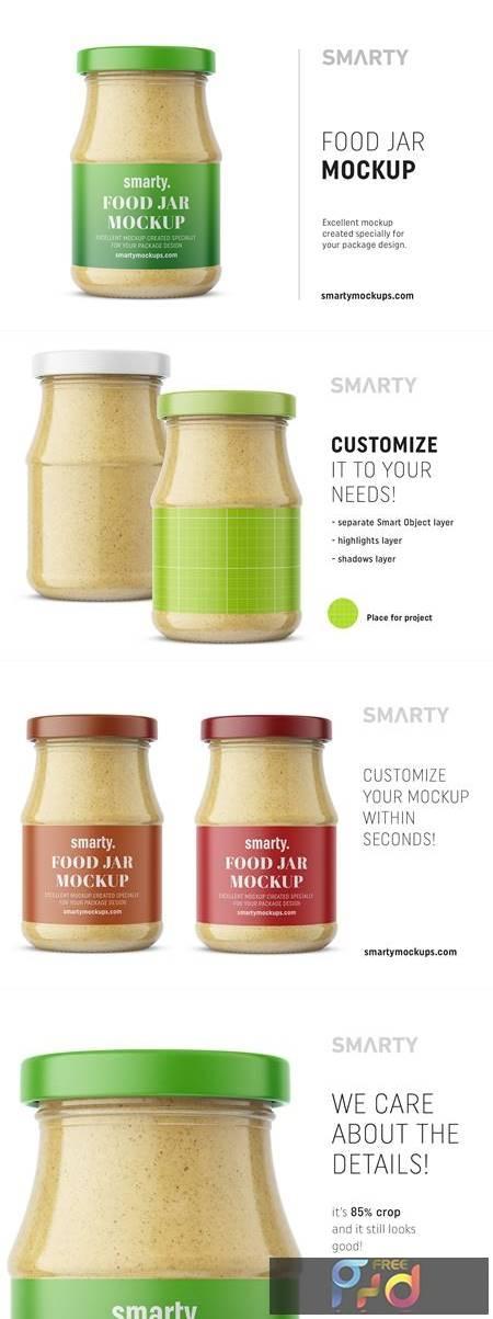 Mustard jar mockup 4658611 1