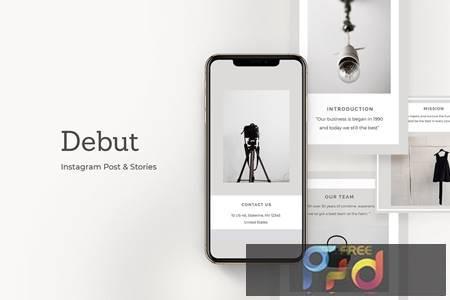 Debut Instagram Post & Stories URGY7G7 1