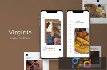 Virginia Instagram Post & Stories WVWZMHT 6