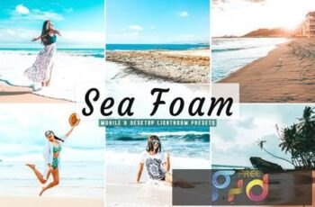 Sea Foam Mobile & Desktop Lightroom Presets U5L738S 4