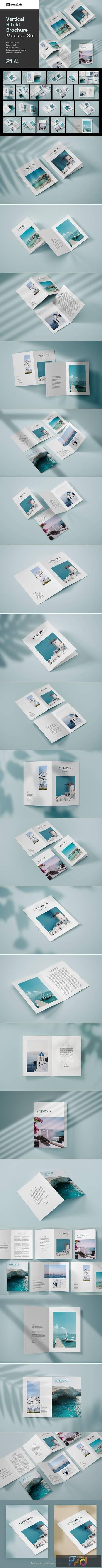 Vertical Bifold Brochure Mockup Set 4805439 1