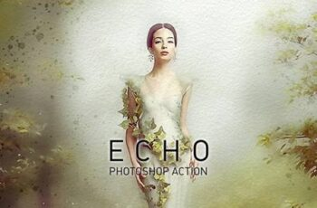 ECHO Universal Paint Sketcher Photoshop Action 26310061 3