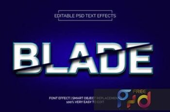 Blade Text Effects Style Premium 3873158 5