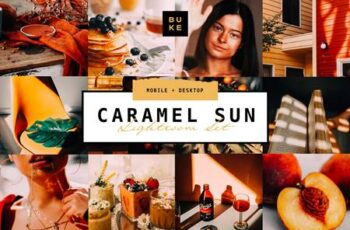 3 Caramel Sun Lightroom Presets Pack 4736325 2
