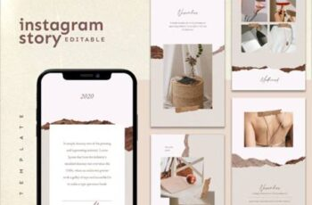 Instagram Story Template 3872208