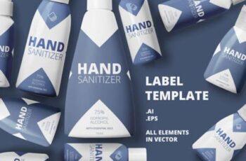 Label Template Design 3872136 4