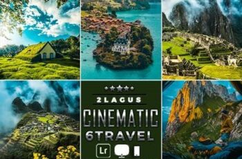 Cinematic-Landscap Travel Lightroom Presets ( Mobile & Desktop ) 26196709 2