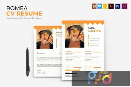 Romea - CV & Resume FYRWAUX 1