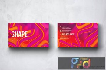 Shape Business Card Design UCY35Y4 6