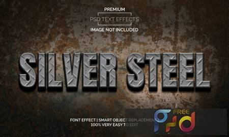 Silver Steel Text Effects Style Premium 3872551 1