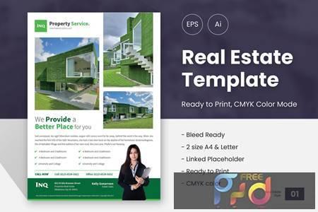 Stylist Real Estate Marketing Flyer 01 FCVEVRF 1