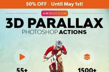 3D Parallax Animated Photoshop Actions 26308092 3