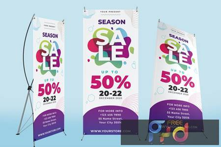 X Banner Sale Template AUCTQY6 1