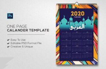 Arabic Calendar Template 4656603 1