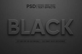 3d editable text effect 5