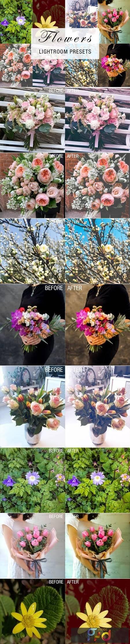24 flowers lightroom presets 4784961 1