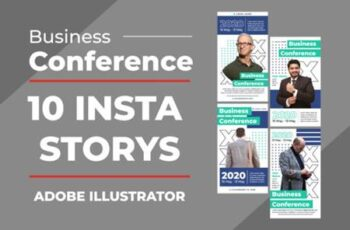 Business Insta Stories Vector Templates 3927663 1
