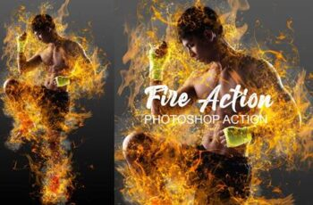 Fire Effect Ps Action 4787668 12