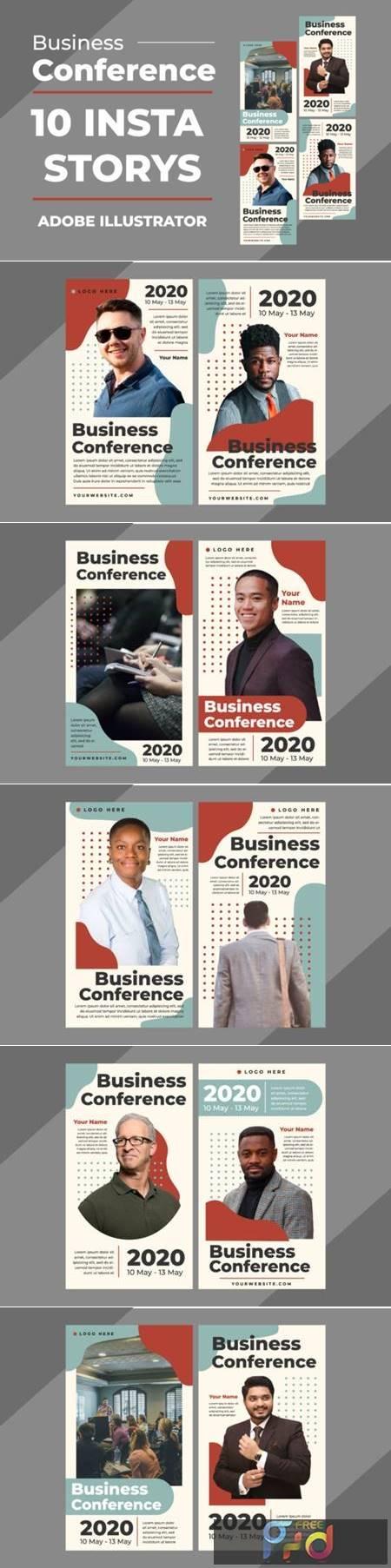 Business Insta Stories Vector Templates 3927682 1