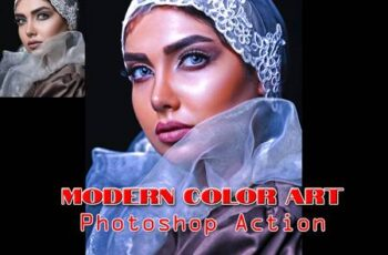 Modern Color Art Photoshop Action 4843434 3