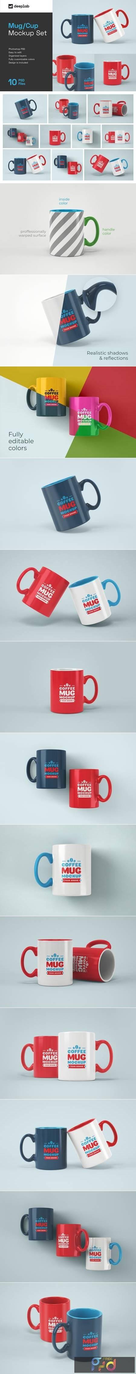 Mug Mockup Set 4848367 1