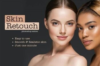 Realistic Skin Retouching PS Action 26204443 3