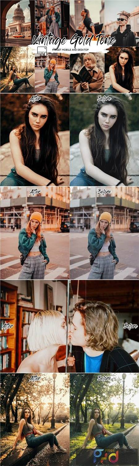 Vintage - Lightroom Preset + LUT 4779111 1