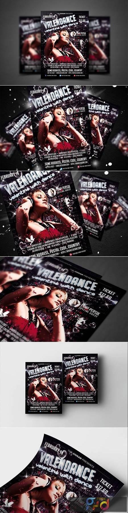 Valendance Flyer Template 3927202 1