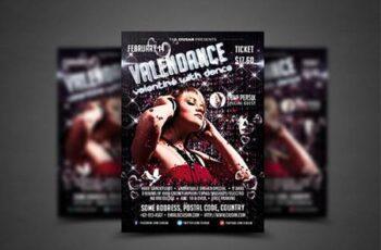 Valendance Flyer Template 3927202 7