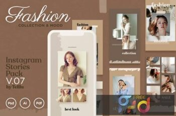 Instagram Stories v.07 Fashion Collection & Mood UFW7HJ7 3