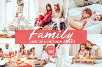 Desktop Lightroom Preset FAMILY 4842205 6