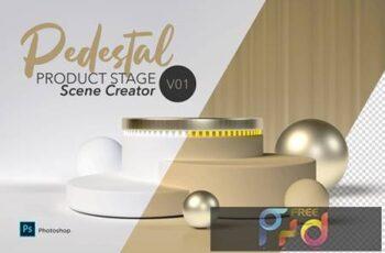 Pedestal Scene Creator V01 42MULZ2 4