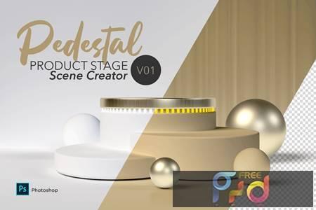 Pedestal Scene Creator V01 42MULZ2 1