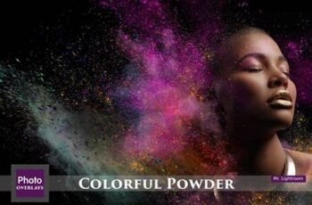 60 Colorful Powder Explosion Overlay 4718166 3