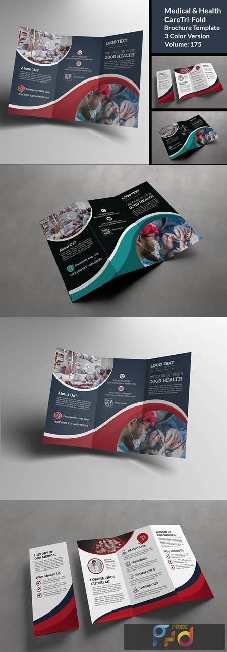 COVID-19 Medicla Trifold Brochure 4832273 1