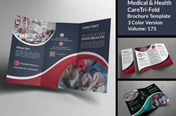 COVID-19 Medicla Trifold Brochure 4832273 3