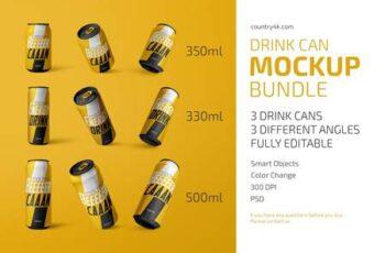 Drink Can Mockup Bundle 4832462 1