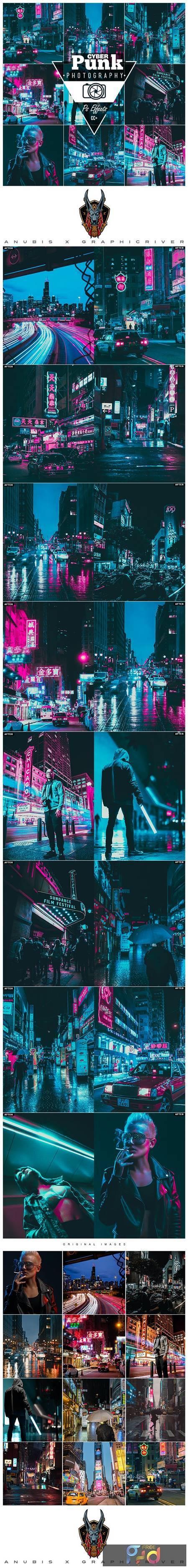 Cyberpunk Photoshop Action 26328763 1