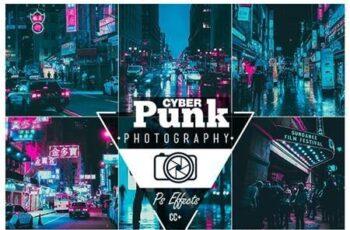 Cyberpunk Photoshop Action 26328763 5