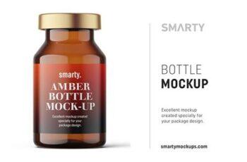 Amber bottle mockup 10ml 4824665 6