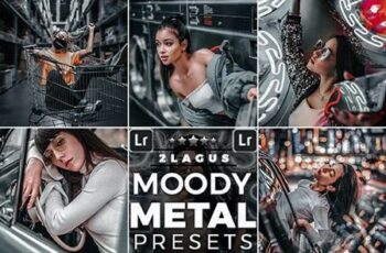 Moody Metal Presets Mobile and Desktop Lightroom 26319679 6