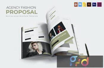 Agency Fashion - Brochure Template X64MKF4 5