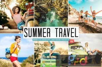 Summer Travel Mobile & Desktop Lightroom Presets C8NDW5H 3