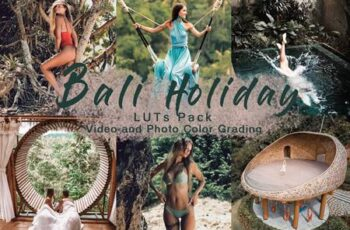 BALI HOLIDAY - LUTs Pack 4562057 8