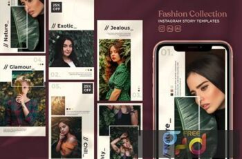 Fashion Collection Instagram Story Templates WDXTAYH 5